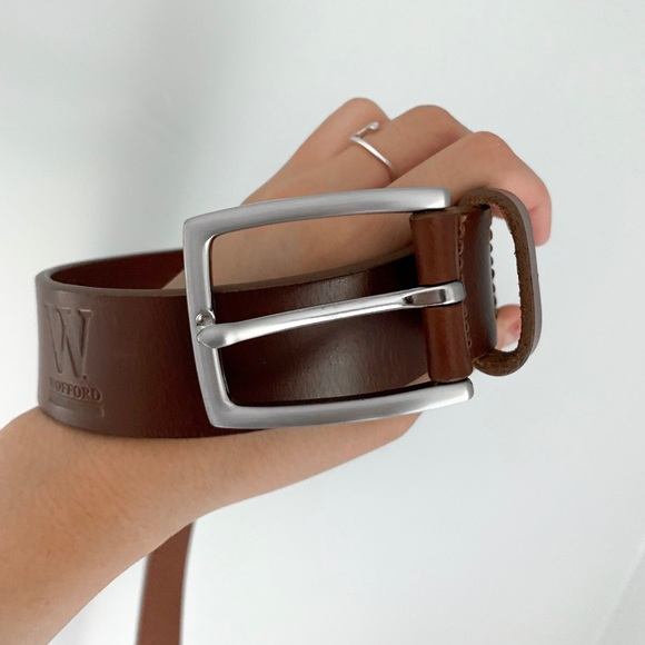 Other - men's leather wofford belt